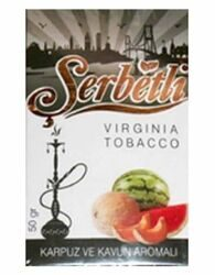 Табак Serbetli Арбуз С Дыней Watermelon With Melon оптом 50 г