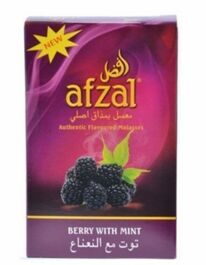 Табак Afzal Berry with Mint Ежевика с мятой 40 грамм